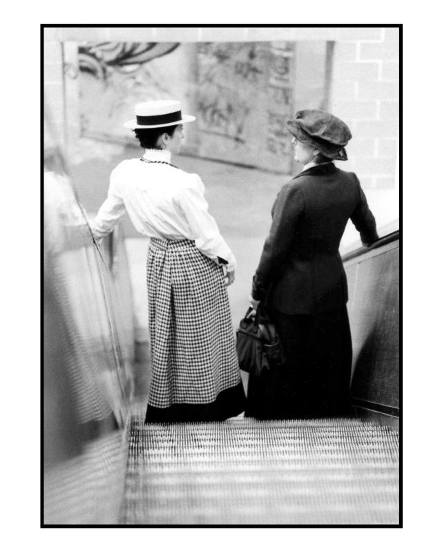 Rosa & Clara am Alex 10 © York Wegerhoff