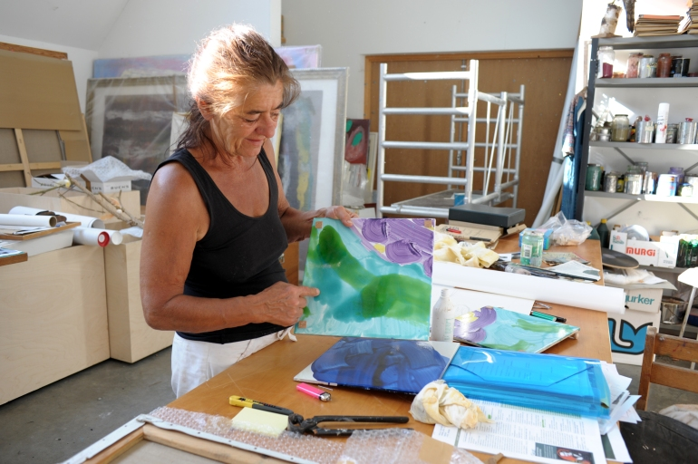 Ursula Reuter Christiansen - Atelier
