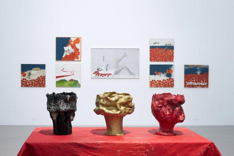 """MdbK, Ursula Reuter Christiansen.Ausstellung: """"Der rote Fluss"""""""